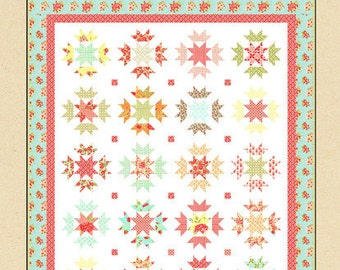 Cotton Way Star Blossoms Quilt Pattern