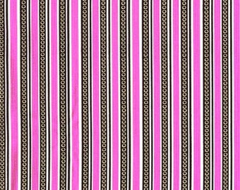 Pod Stripe in Orchid - Fabric By The Yard