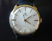 Vintage Omega cal285 hand winding watch - 20 micron gilded case - from 1960