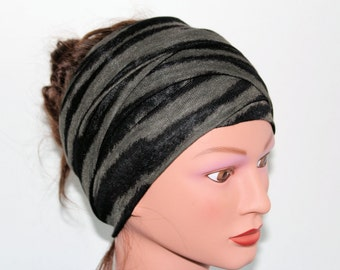 popular items for striped head scarf on etsy
