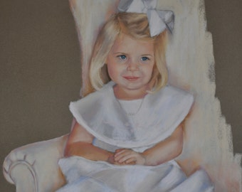 Custom Pastel Portrait  from your photographs 16x20