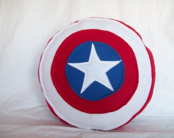 Captain America Shield Pillow