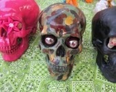 Painted Day of the Dead Skulls