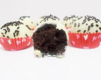 Chocolate Cake Balls- Truffles One Dozen (12)