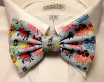 Sailor Moon Sailor Scouts and Tuxedo Mask Print anime Bowtie / Bow Tie