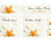 SHOP BANNERS Scent of Sea II Etsy Shop Banner Set