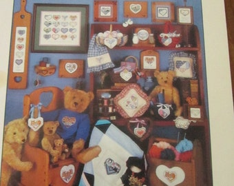 Cross Your Hearts Counted Cross Stitch Patterns