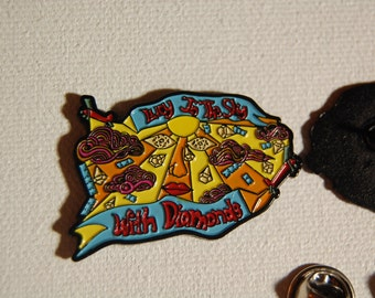 Lucy In the Sky With Diamonds Pin