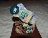 ON SALE  Vintage Parrot Vase Made in Japan