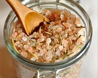 Pink Himalayan Rosemary Salt