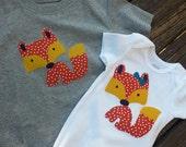 hope in handmade - fox shirt