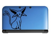 Pokemon Espeon Anime Decal for Nintendo 3ds, Macbooks, Laptop, iPhone, XBox, Playstation, Cars, Windows, Wall