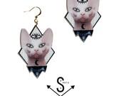 Earrings SPHINX
