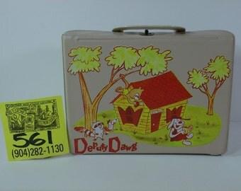 1960's Deputy Dawg Vinyl lunchbox
