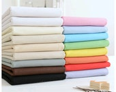 Cotton Linen Fabric Solid Color DIY Material for Clothing,Apparel Free Shipping