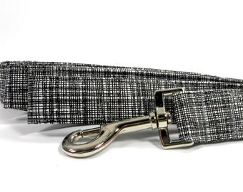 Black and White Graphic Print Dog Collar, Dog Accessories, Dog Lead