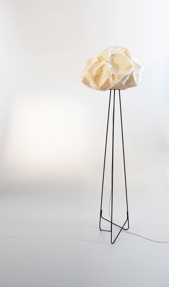 lampadaire origami
