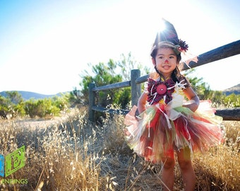 Scarecrow Costume, Wizard of Oz, Halloween Tutu, Tutu Costume, Fall Tutu, Autumn Tutu, Scarecrow Tutu, Outift of Choice, Pageant Dress
