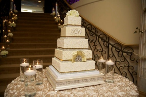 18 inch square wedding cake stand 18 inch square cake stand with ivory pearl finish and 10076