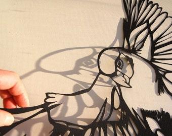 Parrot Papercut