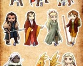 Assassins Middle Earth and Fantasy Stickers