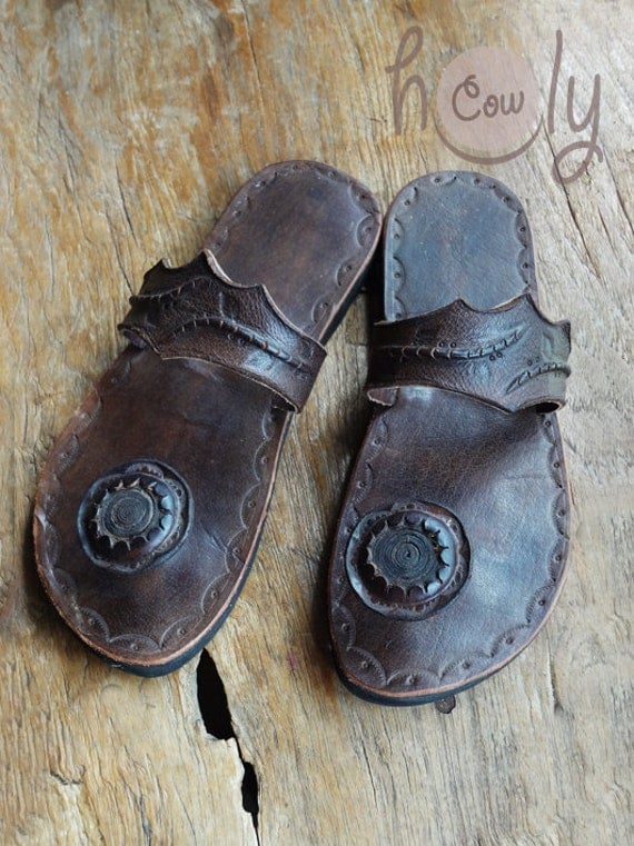 Leather Sandals from Holy Cow Products