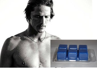 Male Fragrance Scented Wax Tarts - 3.5 oz  - Highly Scent - Custom Made