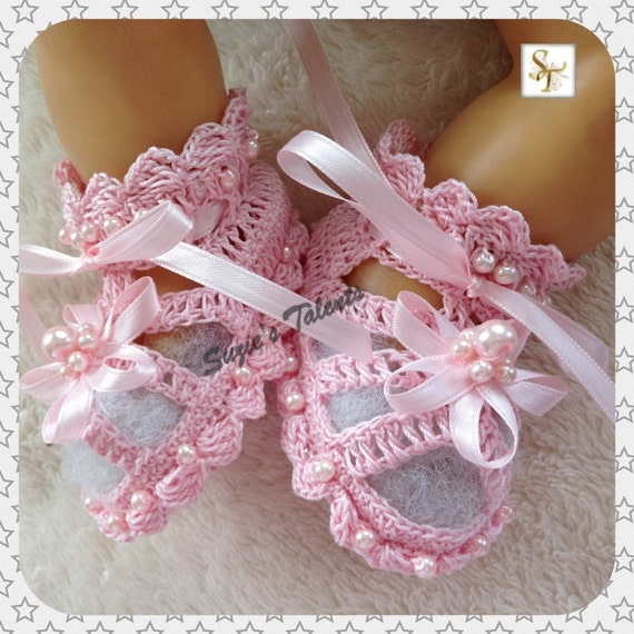 Free Crochet Pattern Christening Shoes : 301 Moved Permanently