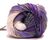 NEW Cotton Yarn // Crochet Yarn // Knitting Yarn // Sock Yarn // hypoallergenic yarn // batik design  // Alize yarn / Yarn Shop eco friendly