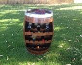 Wine Barrel Stave Wine Rack for mjcrawford