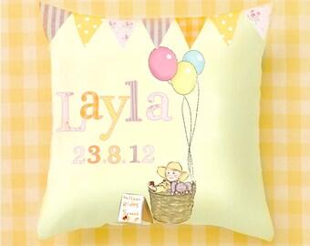 Cushion Cover, bedroom decor, kids gift,  Decorative cushion.  Kids Room Children cushion , Pillow Covers Nursery Decor