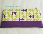 ELEPHANT Zipper pouch/ pencil case