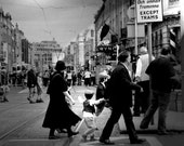 "Dublin City Black and White Photography Ireland History Monochromatic Print 12x18"" 40% discount"