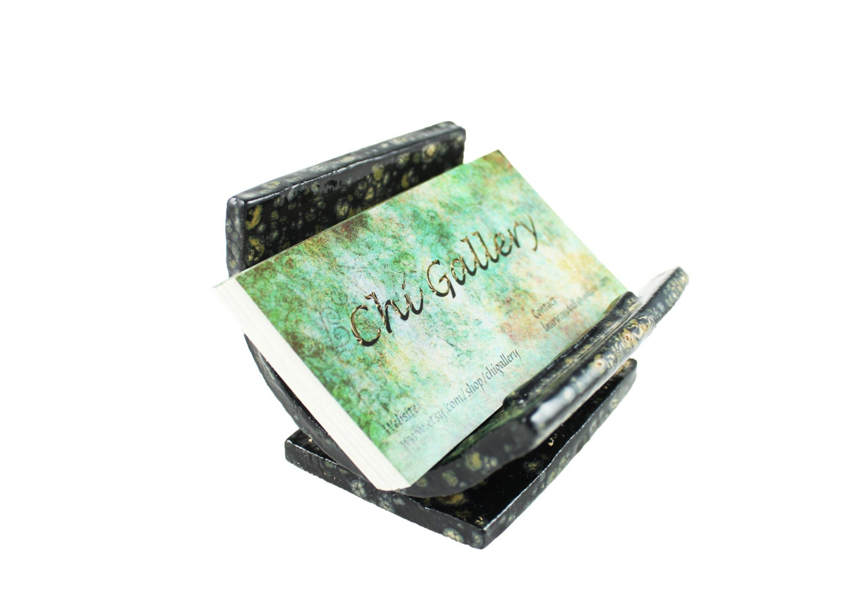 Ceramic business card holder unique card holder by chigallery for Ceramic business card holder