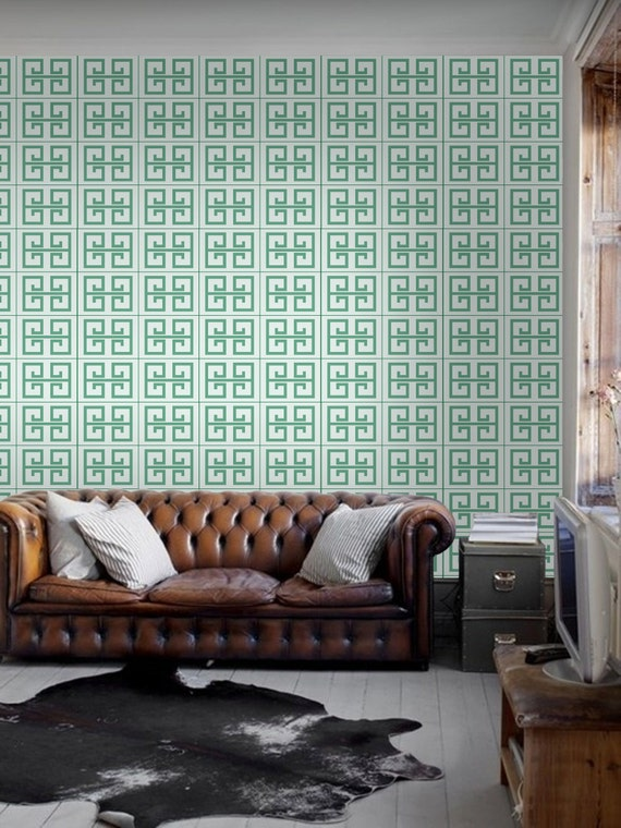 The Greek Key Self Adhesive Diy Wallpaper Home Decor By
