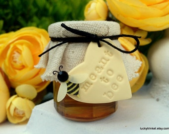 Meant To Bee Honey Jars - Wedding Favors