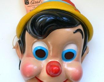Vintage Mask Masque Cesar Walt Disney Pinocchio 1980's