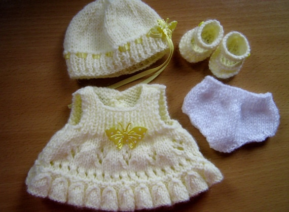 Knitting Patterns For 8 Berenguer Doll Clothes : Knitting Pattern for 8 Chubby Berenguer Dolls Clothes