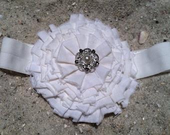Vintage Flower Headband