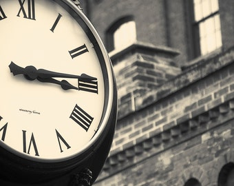 vintage clock life fine art photography fathers day mothers day birthday anniversary Distillery District Toronto
