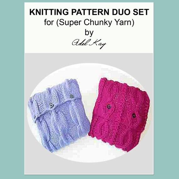 Super Chunky Knitted Cushion Pattern Dark Brown Hairs