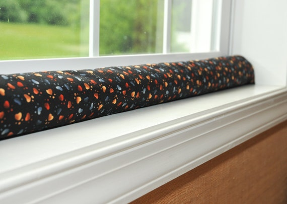 Door draft stopper draught excluder free us shipping by for Door wind stopper