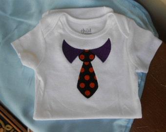 Baby Boy Tie Onesie