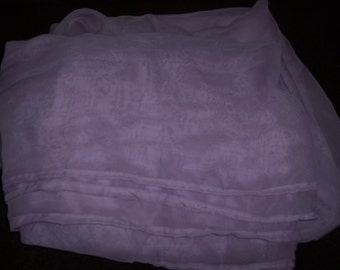 purple chiffon fabric, appx 5.67 yds by 43 inches,prom dresses,formals,costumes