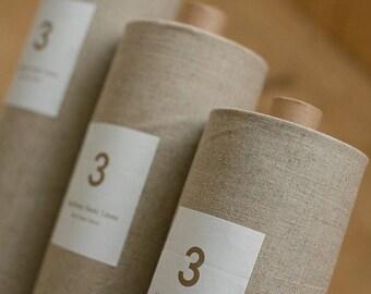Plain Cotton Linen Fabric for Curtain/Bag/Soft furnishings (17.5x55 inch)