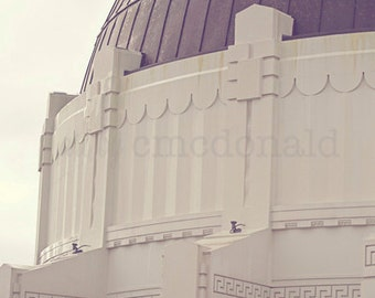 The Observatory  - Photographic Print - California, Cityscape, L.A., Cali, Socal, Hollywood, Film, Decor, Wall, Hanging, Industry, Los Feliz