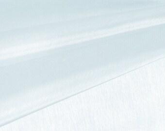 Pale Blue Organza Fabric by the Yard, Wedding Decoration Organza Fabric, Sheer Fabric - Style 1901