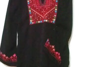 Palestinian Bedouin embroidered blouse