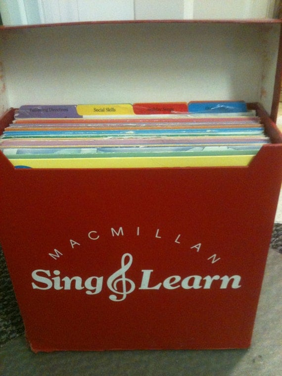 24 Macmillan Sing Learn Records with Teaching Guides | eBay