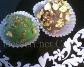 Pistachio Cream Cake Balls
